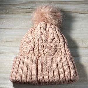 Aeropostale pink knit hat